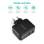 RAVPOWER 24W Dual USB Wall Charger