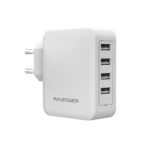 RAVPOWER 40W 8A 4-Port USB Charger
