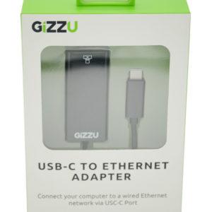 GIZZU USB-C to Ethernet...