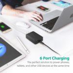 RAVPower 60W 6-Port Desktop...